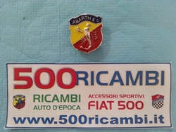 FIAT 500 D F L R STEMMA LOGO ABARTH BADGE DA CRUSCOTTO